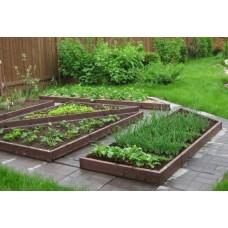 Бордюр садовый вибропрессованный бетонный 1000х200х80