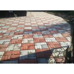Тротуарная плитка вибролитая 12 - КИРПИЧЕЙ