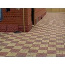 Тротуарная плитка вибролитая Калифорния 300х300х30