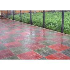 Тротуарная плитка вибролитая Паркет