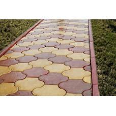 Тротуарная плитка вибролитая Рокко