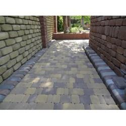 Тротуарная плитка вибролитая Римский брук