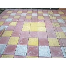 Тротуарная плитка вибролитая Тучка 300х300х30